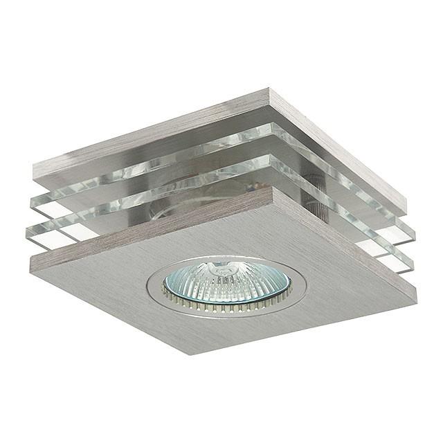 Kanlux Einbaustrahler ROVAN CTX-DS50L, Einbaurahmen, -Leuchte, eckig ...