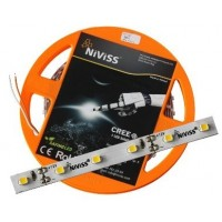 1_Niviss, CREE nFlex Basic Strip, flexibler LED Streifen, warmweiß, 3000K, 12V, 5m