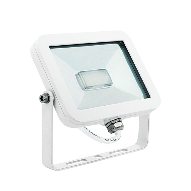 Ordentlich TINI LED Fluter flach IP65 Außenstrahler 20W, warmweiss Alu für  RX23