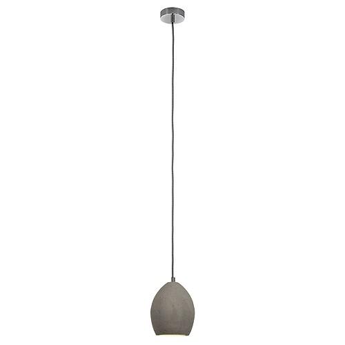 soprana solid pd 1 pendel und deckenleuchte grau e14. Black Bedroom Furniture Sets. Home Design Ideas