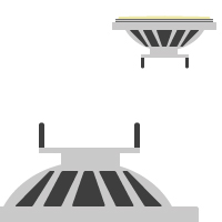 LED AR111 / G53 (12V)