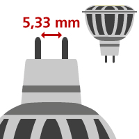 LED MR16/GU5.3 (12V)