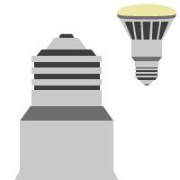 LED E27 / PAR ( 230V )