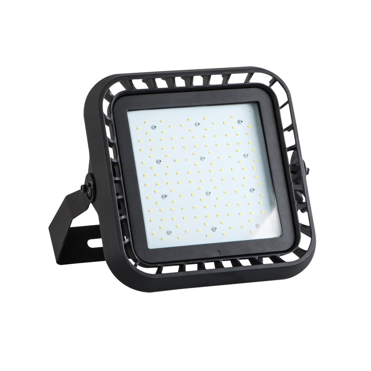Kanlux FL MASTER LED 100W-NW 4000 Kelvin schwarz  IP65