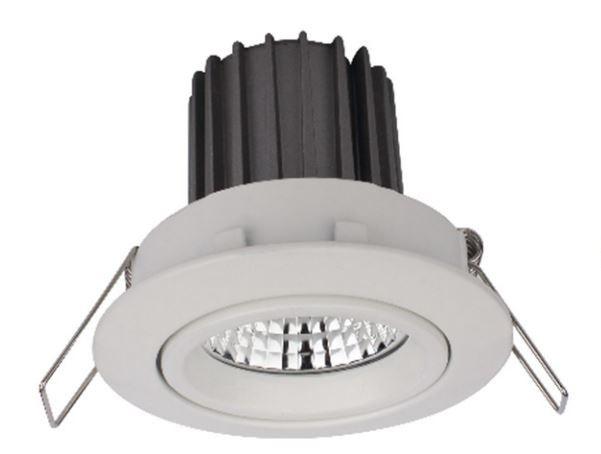 Civilight Downlight WCVC008W10 E8056 W 6901029080568 Festanschluss 230 Volt 10.0W 600lm 2300 - 2700K extra warm weiß