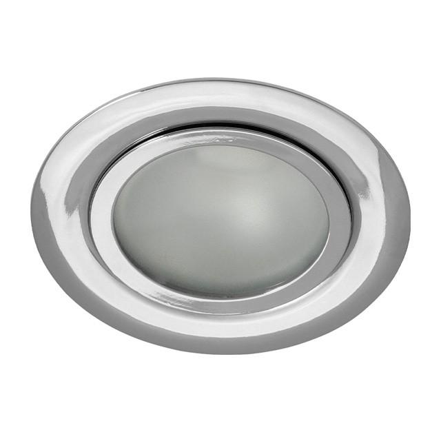 Einbaustrahler-Einbaurahmen GAVI, rund, Stahl/Glas, versch.Farben, 73mm
