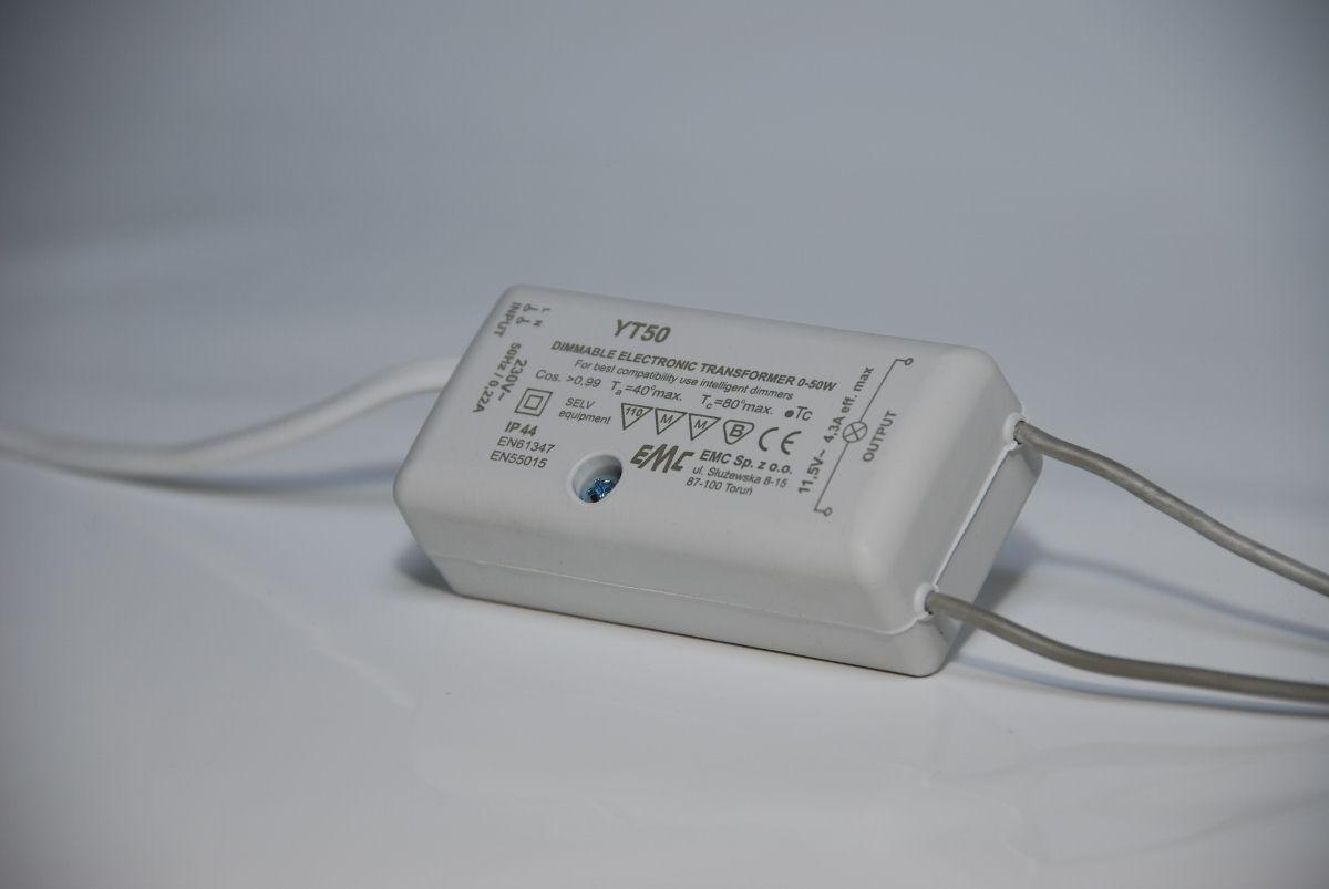 EMC YT50 LED Netzteil / Treiber, 12V, 50W, IP44, dimmbar