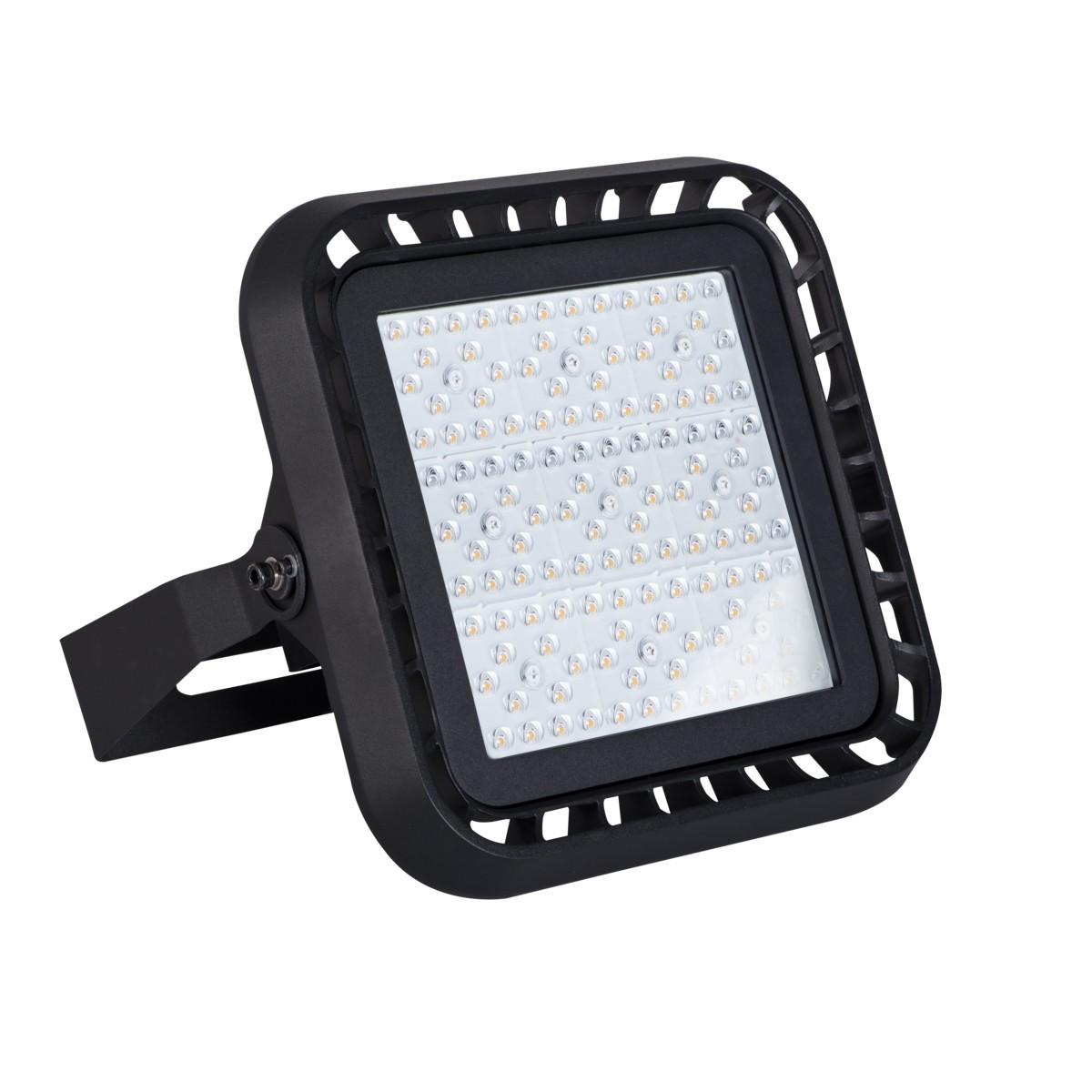 Kanlux FLM LED100W-NW110/150 4000 Kelvin schwarz  IP65
