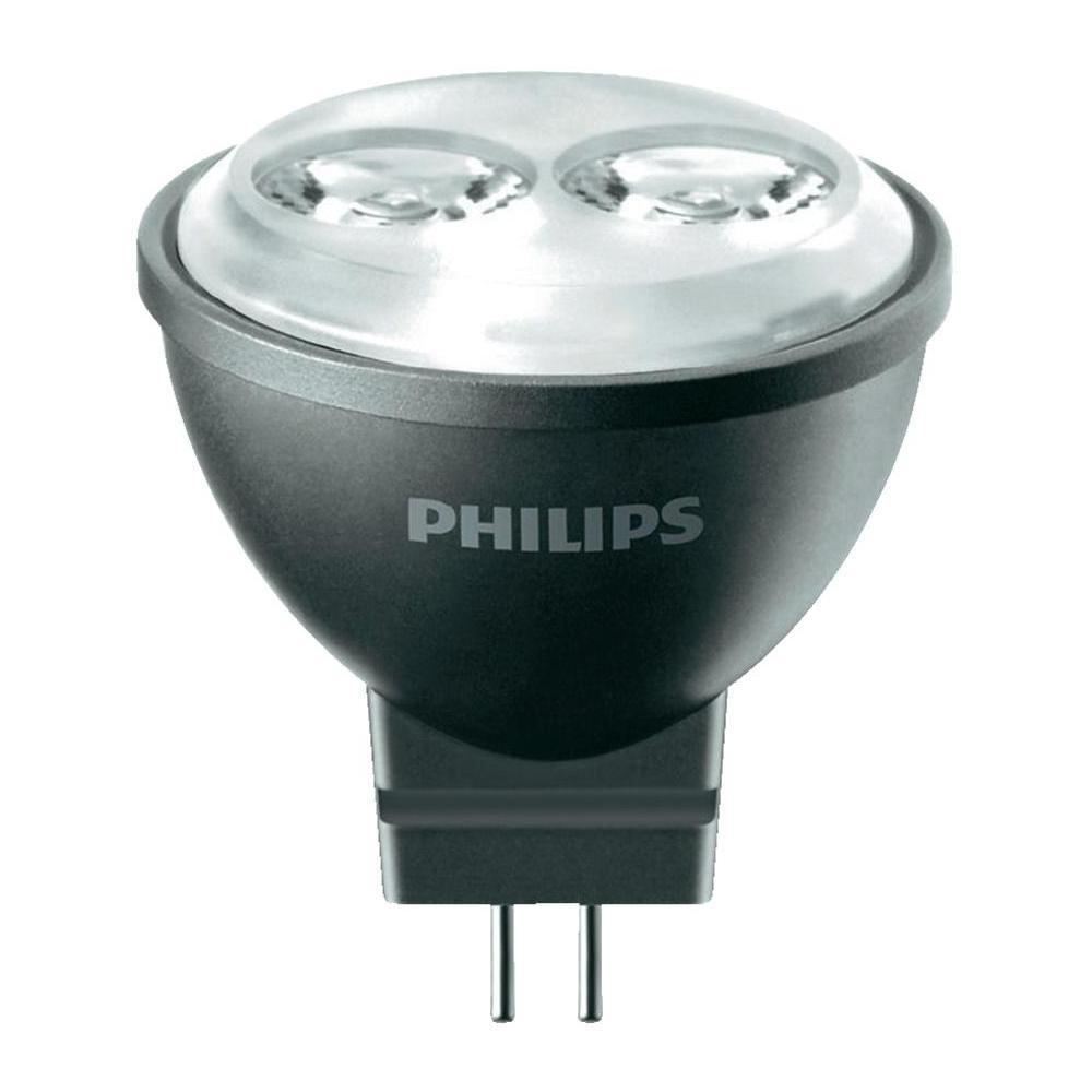 1_Philips LED Spot MR11 (GU4), 4W, neutralweiß / warmweiß, 24°