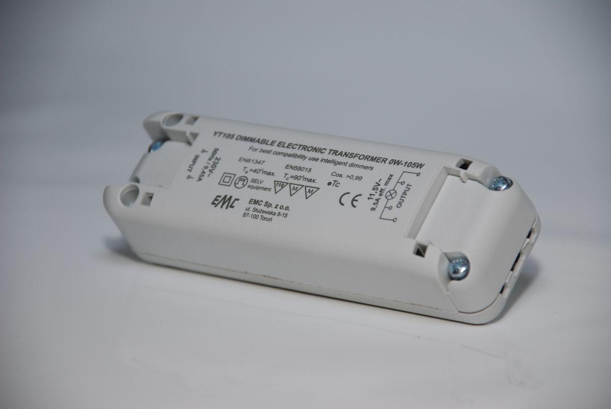 EMC YT105 LED Netzteil / Treiber, 12V, 105W, dimmbar, IP40
