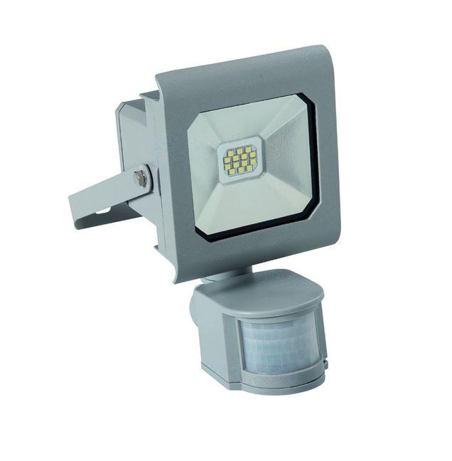 1_Kanlux ANTRA 25580 LED Außenstrahler / Fluter 10W Bewegungsmelder