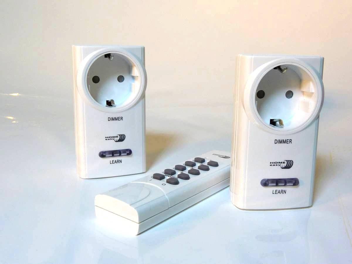 steckdosen dimmer für led lampen