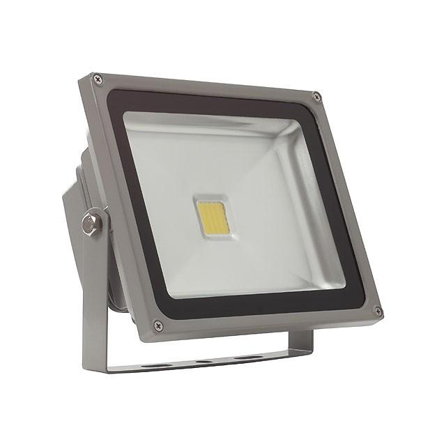 1_MONDO LED MCOB-30-GR, Außenstrahler, 30W, 2240lm, neutralweiß, 120°