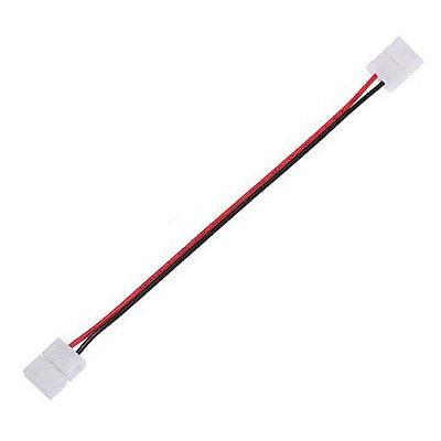 LED Verbinder Stecker/Stecker 8mm für einfarbige LED Strips