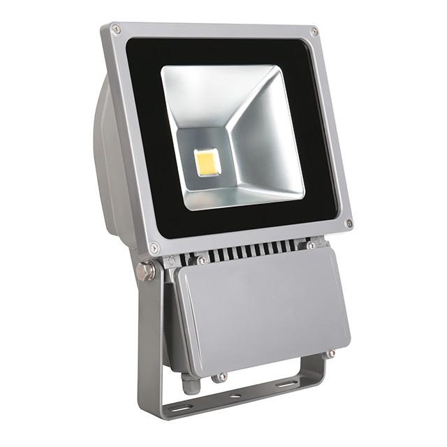 1_MONDO LED MCOB-100-GR 19205, Außenstrahler, 100W, 6780lm, neutralweiß, 120°