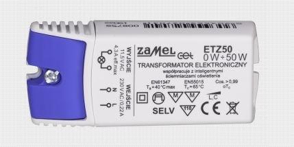 Zamel ETZ50 LED Netzteil / Treiber, 12V, 50W, dimmbar 5903669071334 Bild1
