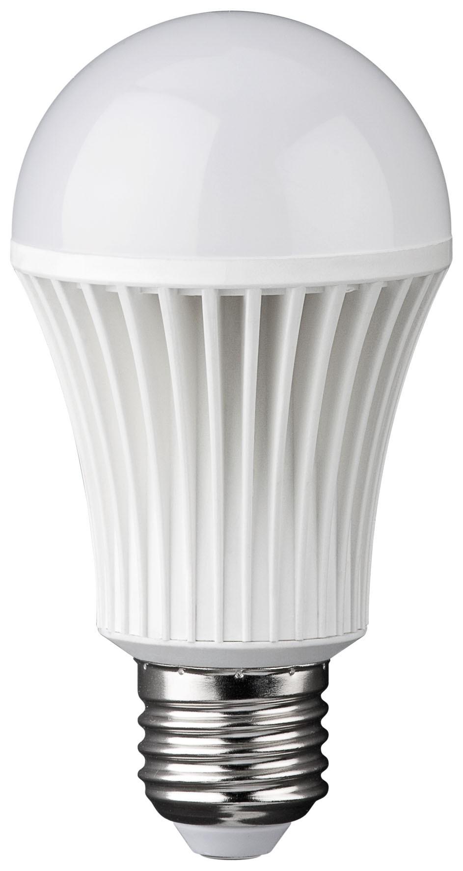 1_Goobay LED Birne, Raumlicht A60, E27 120°, warmweiß, 500lm