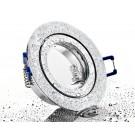LC-Light ALU Einbaustrahler Bicolor rund mit Klickverschluss IP44