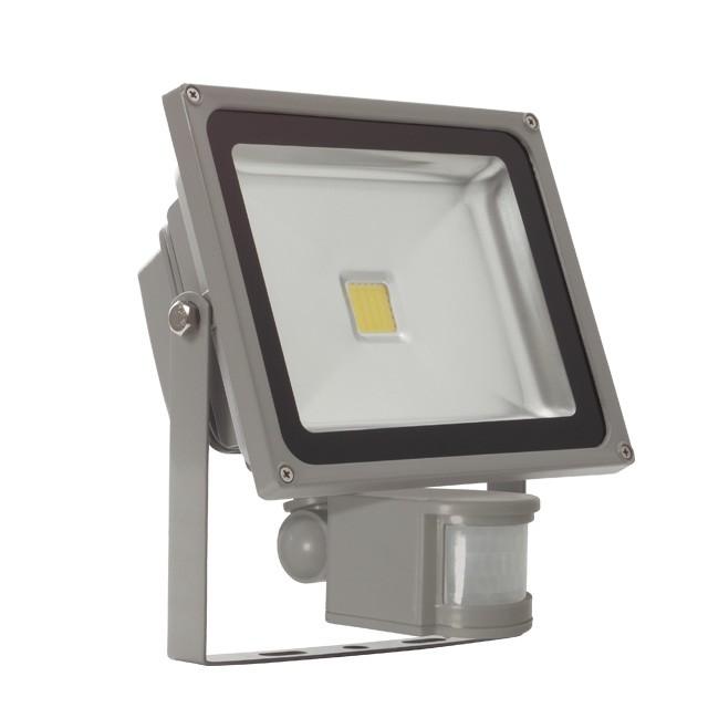 1_MONDO LED MCOB-30-GR SE, Außenstrahler, 30W, 2240lm, neutralweiß, 120°