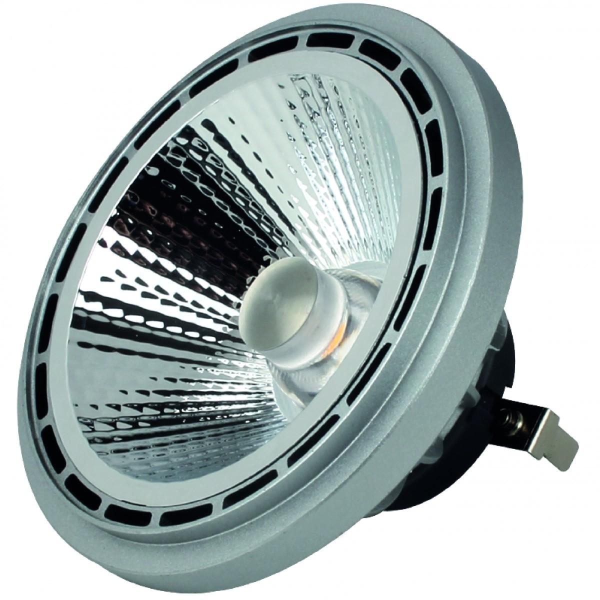Civilight HALED DAR111 WC100P18-49166 G53 12 Volt AC/DC 18.0W 850lm 3000K warm weiß