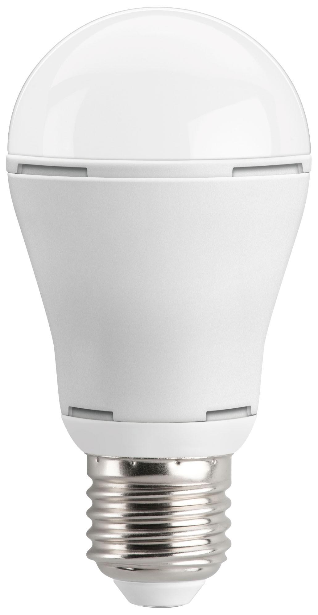 1_Goobay LED Birne A60, E27 160°, warmweiß, 10.5W, 810lm