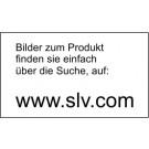 SLV Einbaustrahler Pika MR16, Einbaurahmen, -Leuchte, rund, weiß, silbergrau, chrom, messing